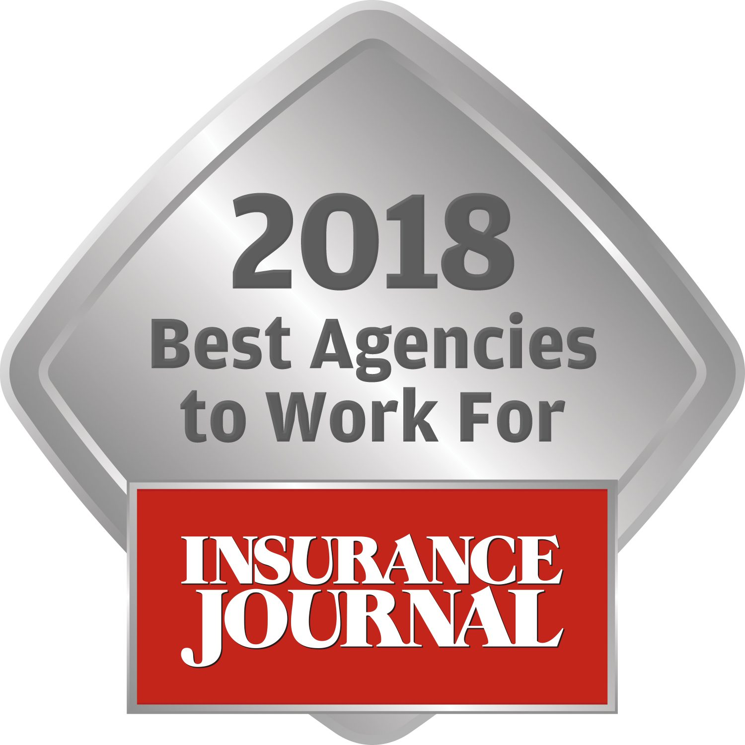 Insurance Journal Award, 2018 Best Agencies to Work For