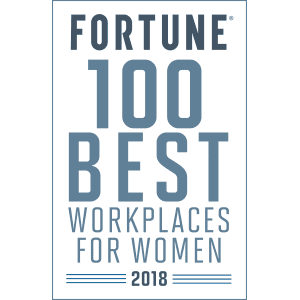 Fortune Award - 100 Best Workplaces for Women, 2018