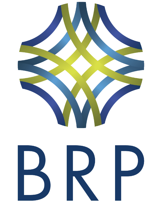 "BRP Icon above text reading ""BRP"""