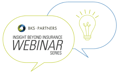 BKS-Partners Webinar Logo, Insight Beyond Insurance Webinar Series